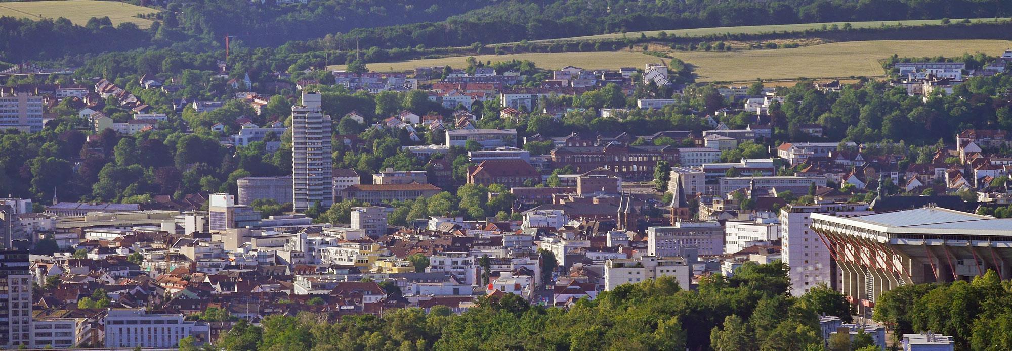 Kaiserslautern Stadtansicht